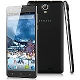 """Cubot S350 - Smartphone libre Android (pantalla 5.5"""", cámara 8 Mp, 16 GB, Quad-Core 1.3 GHz, 2 GB RAM), negro"""
