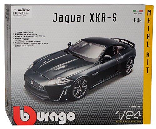 Jaguar XKR-S Grün Coupe 2006-2014 Bausatz Kit 1/24 Bburago Modell Auto
