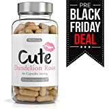 Dandelion Root Capsules For Women - Highly Effective Water Retention Tablets, Easy to Swallow Natural Diuretic - Bonus Workout Plan - Best For Weight Loss, Bloating Relief and Appetite Suppressant