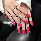 Lange gefälschte Nagelstilett Falsche Nagelspitzen Künstliche Nägel Voller...
