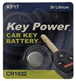 Automotive Parts Accessories Best Deals - Key Power CR1632-KP - Pila de litio para llave de coche (3 V)