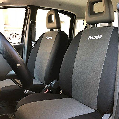 autoSHOP Set Fodera COPRISEDILE su Misura per Auto con Sedile Posteriore Intero