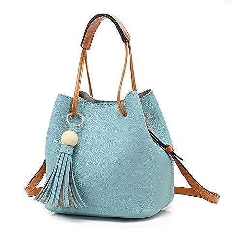 Turelifes Tassel buckets Totes Handbag Women's Hobos and Shoulder Bags Crossbody Bag 3 Back Method
