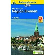 Radwanderkarte BVA Radwandern in der Region Bremen 1:60.000, GPS-Tracks Download (Radwanderkarte 1:60.000)