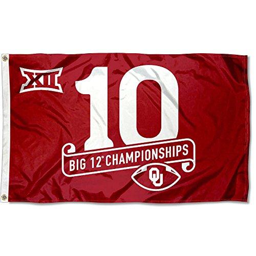 Oklahoma Sooners 2016Big 12Champions Flagge -