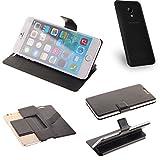 K-S-Trade Schutz Hülle für UMIDIGI C2 Schutzhülle Flip Cover Handy Wallet Case Slim Handyhülle bookstyle schwarz