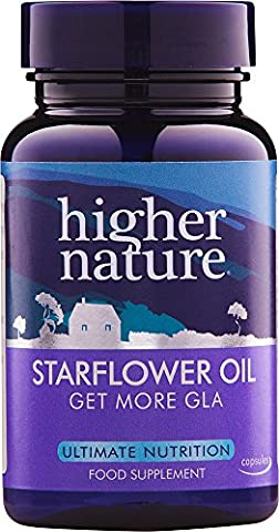 Higher Nature Starflower Oil 1000mg (Cold pressed) 30