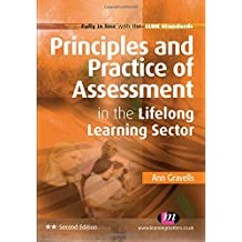 Principles and Practice of Assessment in the Lifelong Learning Sector (Further Education and Skills)