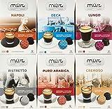 MUST ESPRESSO ITALIANO Kapseln Vielfaltspaket – 96 Nescafè Dolce Gusto kompatible Kaffekapseln, 6er Pack (6 x 40 g)