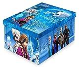 Disney Frozen Caja de almacenamiento de juguetes de 40 x 50 x 25 cm