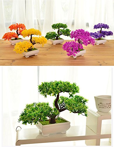 Pianta artificiale bonsai albero di natale decorazione for Casa moderna natale