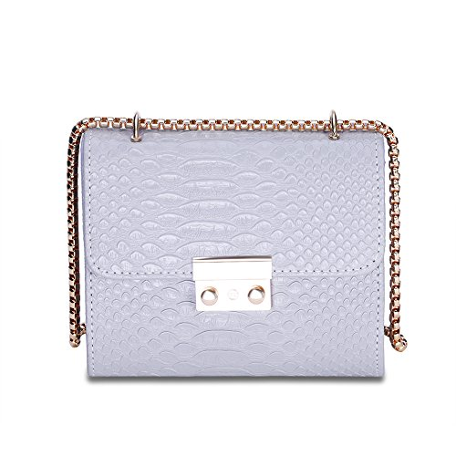 [mode]/Baodan sur le sac à bandoulière solid/[chaîne] (couleurs assorties)-gris gris