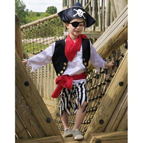 Piraten Set - Kinderkostüm 3-8 Jahre alt (7-8 years) - Slimy ()