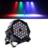 Top-Uking PAR Luz Etapa iluminación luz efecto discoteca LED 8 CH de efecto de luz y 5 Modo ...