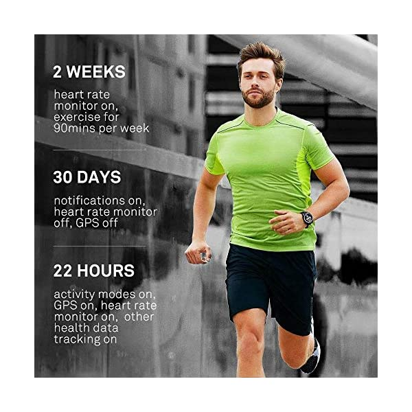 Huawei Watch GT Sport - Reloj (TruSleep, GPS, monitoreo del ritmo cardiaco), Negro 5