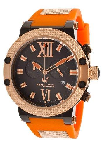 MULCO HOMME & FEMME 47MM CHRONOGRAPHE DATE MINÉRAL VERRE MONTRE MW3-11010-075