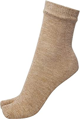 Samkit Women's Woolen Thumb Socks (Pack of 4) (Skin)