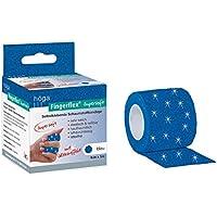Höga Fingerflex Supersoft blau, mit Glitzereffekt, 4 cm x 5 m preisvergleich bei billige-tabletten.eu