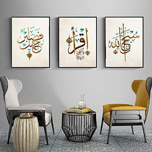 MYSY Wandkunst Leinwand Malerei Wohnzimmer Schlafzimmer Esszimmer Wanddekoration Leinwand Kein Rahmen (A 20)