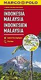 MARCO POLO Kontinentalkarte Indonesien, Malaysia 1:2 000 000 (MARCO POLO Kontinental /Länderkarten)