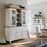 Esszimmer Buffet in Weiß Landhaus Design Pharao24