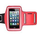 iChoose Oberarmtasche für Apple iPhone 5/5s - - rouge