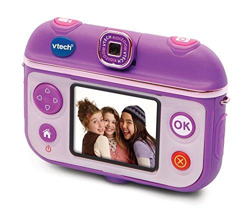 Image of VTech 193703 Kidizoom Selfie Cam Toy - Purple