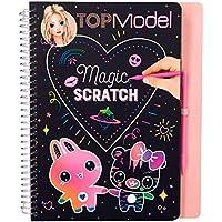Depesche 10362Libro para Colorear Magic Scratch portatil TOPModel