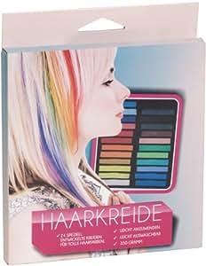 Haarkreide 24 Stück XXL. Farben zum einfärben von Haare. Tönung, Strähnen, Farbe