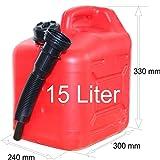 Treibstofftank Benzinkanister 15 Liter 43600
