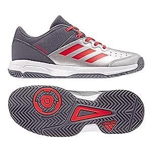 adidas Unisex Court Stabil Jr Handballschuhe, weiß, 36 EU