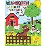 Il Mio Primo Grande Libro da Colorare Per i Più Piccoli: Animali da colorare per i più piccoli | Libro da colorare per bambin