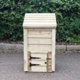 HNP Wooden Coal Bunker for smaller gardens