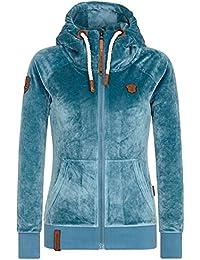 Suchergebnis auf Amazon.de für  naketano sweatjacke damen - Blau ... c33ac8b652