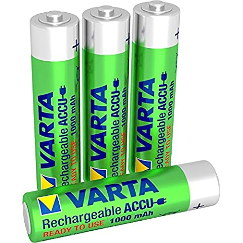 Piles Lithium Aaa - batterie rechargeable Varta Accu Ready2Use AAA Ni-Mh