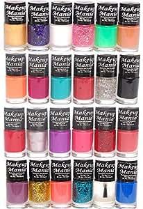 Makeup Mania Nail Polish Set, Multi-Color No.86, 87 (Combo Of 24)