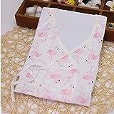 icycheer 0–3Monate Neugeborene Baby Kleidung Japanische Kimono Bademantel 100% Baumwolle Cute Cartoon Mädchen Jungen Baby Strampler Schlafanzüge Jumpsuit outfitss Kleidung