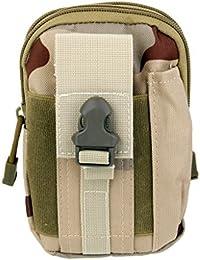 Anbau Outdoor Tactical Waist Bag For Camping Hiking - Desert Camo