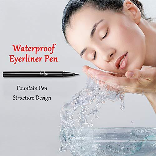 Delineador líquido vegano Ladygo a prueba de agua