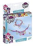 Totum-My Little Pony Bastel-Set: Bastle deine Charm Armbänder mit Kordelbändern, Perlen und Anhängern