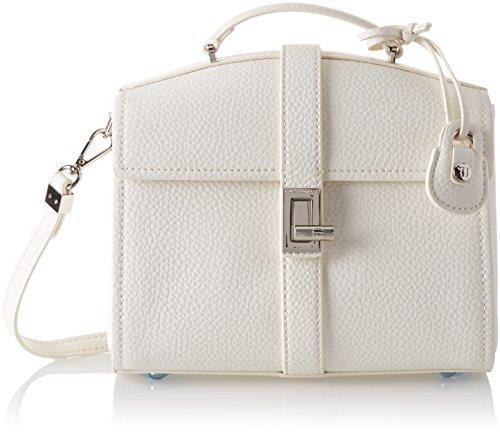 Trussardi Jeans Suzanne Ecoleather Smooth Handbag, Sacs portés main