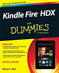 Kindle Fire HDX For Dummies by Nancy C. Muir (2013-12-23)