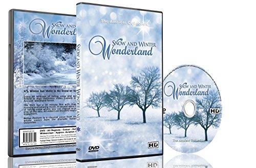 Weihnachten DVD - Schnee & Winter Wunderland mit schönen Bildern von Winterlandschaften