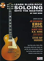 Learn Blues/Rock Soloing With The Masters Gtr BK/CD