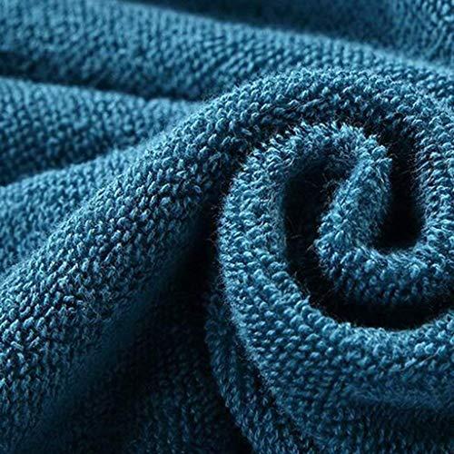 Pajamas completo da pigiama, accappatoio in cotone con tasche, accappatoio da bagno in cotone, accappatoio per uomo e donna per adulti, pigiama a maniche lunghe (manica lunga),grande,/ 1