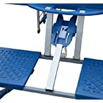 homcom-Outsunny-Tavolino-da-Campeggio-Pieghevole-Portatile-in-Alluminio-e-plastica-con-4-sedie-Azzurro