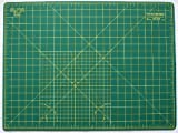 Self Healing Double Sided Quilting Cutting Mat 18 x 24 (45cm x 60cm) Heavy Duty 5 layer mat comparable with Olfa by The Quilted Bear