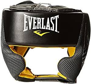 Everlast Erwachsene Boxartikel 444 Evercool Headgear, Black, 0, 057158 03005
