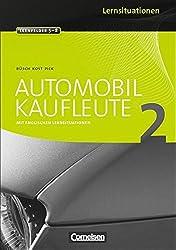 Automobilkaufleute: Band 2: Lernfelder 5-8 - Arbeitsbuch mit englischen Lernsituationen