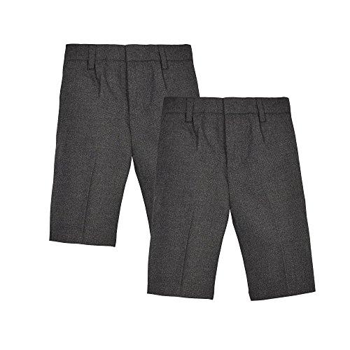 debenhams-kids-pack-of-two-grey-classic-school-shorts-age-10